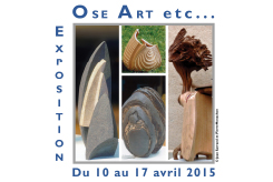 Exposition de sculptures Ose art etc