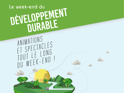Week-end du développement durable Le...